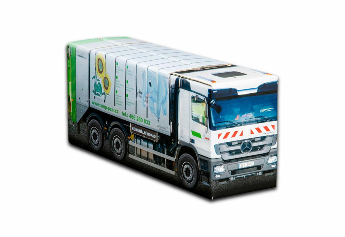 Truckbox Promotional Giftbox Garbage truck Mercedes Benz