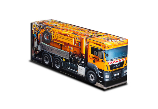 Truckbox Promotional Giftbox – Vacuum & suction truck