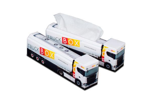 Truckbox Promotional Tissue box – Silo & Fuel Truck