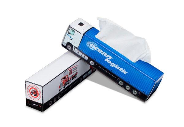 Truckbox Promotional Tissue box – Truck