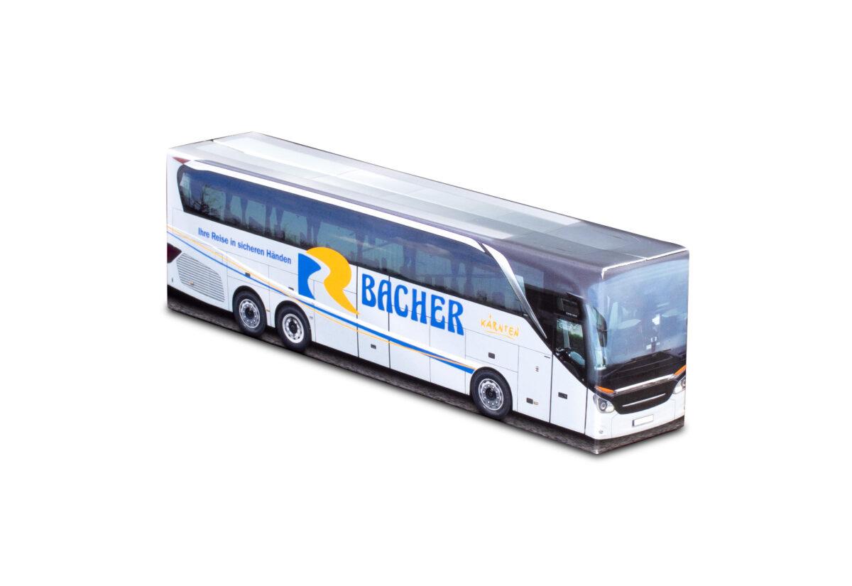 Truckbox Promotional Giftbox Bus Setra Travel Agency Bacher Reisen