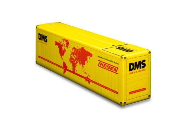 Truckbox Promotional Giftbox Container 40ft, Niesen DMS Umzug & Logistik