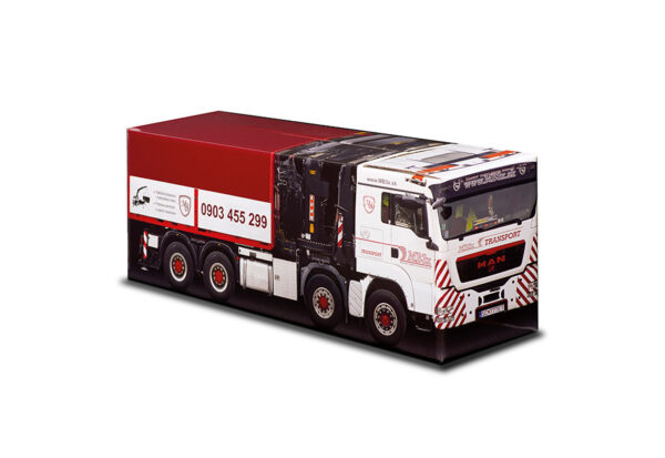 Truckbox Promotional Giftbox MAN + Container