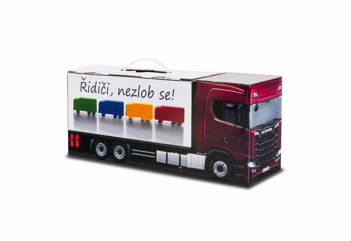 Truckbox Promotional Giftbox Truck superstructure, Scania