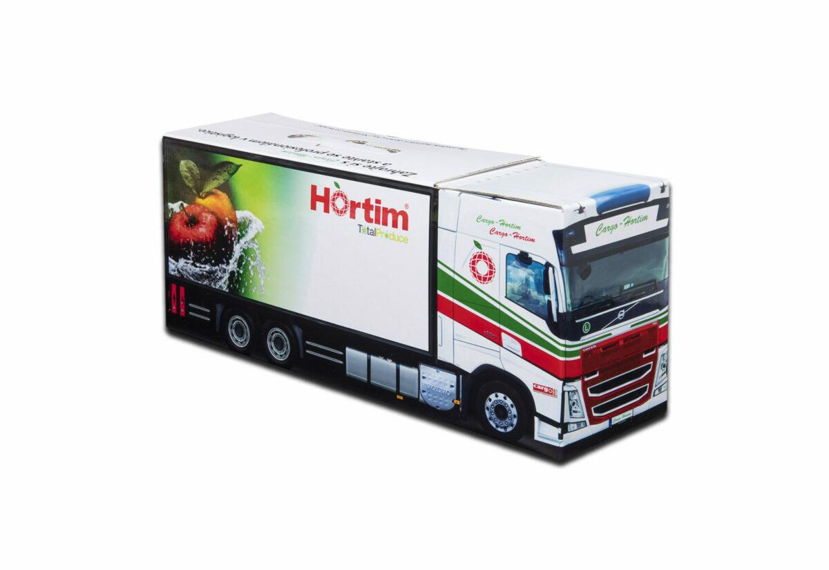 Truckbox Promotional Giftbox Truck superstructure, Volvo, Hortim Cargo