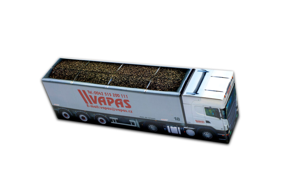 Truckbox Promotional Giftbox – Scania Truck with tipper semitrailer, VAPAS