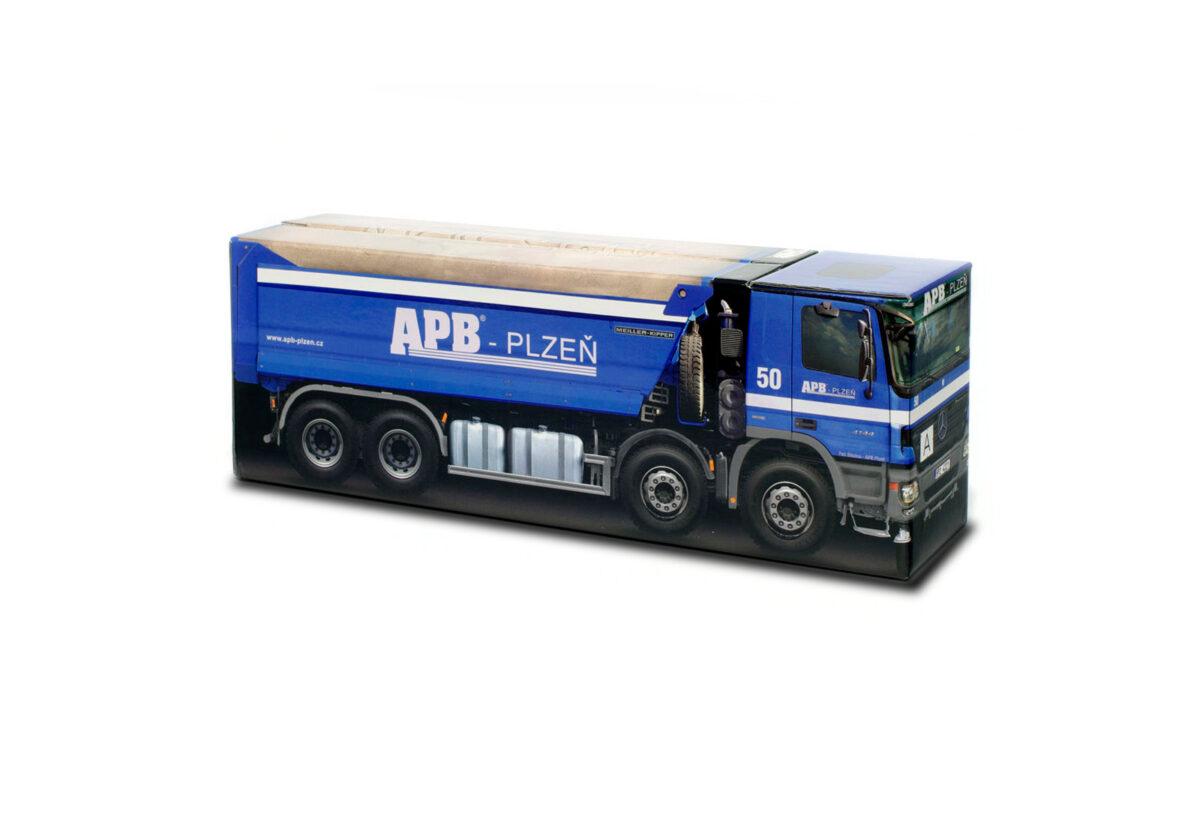 Truckbox Promotional Giftbox – Mercedes Benz Tipper Truck - APB Plzeň