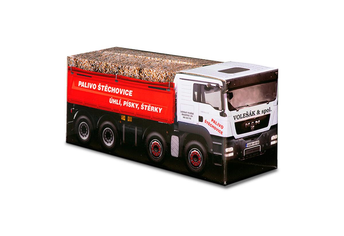 Truckbox Promotional Giftbox – Tipper Truck MAN - Volešák