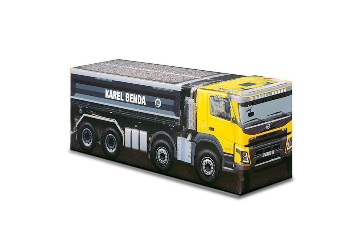 Truckbox Promotional Giftbox – Tipper Truck Volvo - Karel Benda