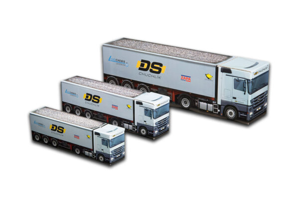 Truckbox Promotional Giftbox – Truck with tipper semitrailer