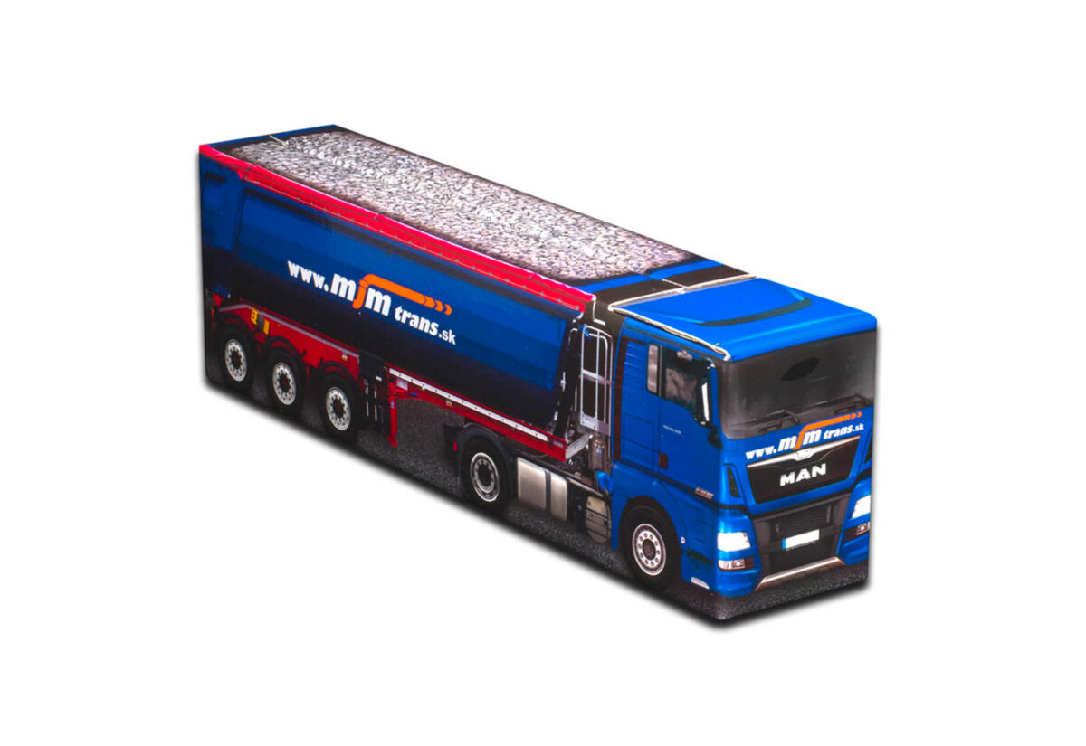 Truckbox Promotional Giftbox – Truck with tipper semitrailer Schwarzmüller