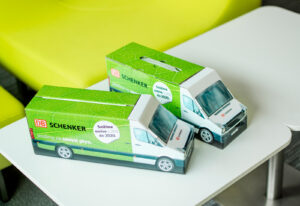 Truckbox Promotional Giftbox – VW Crafter Van, DB Schenker