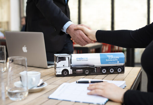 Truckbox Promotional Giftbox truck fuel tank