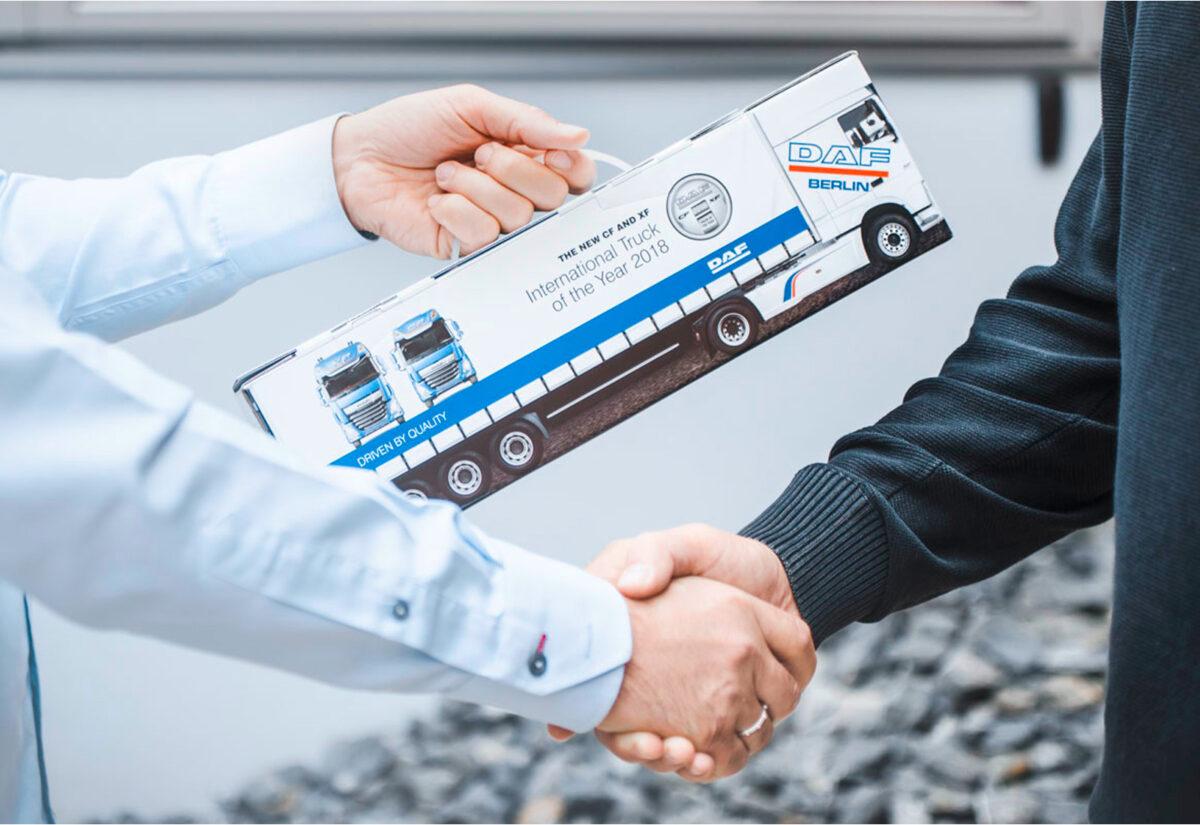 Truckbox Promotional Giftbox - Truck DAF