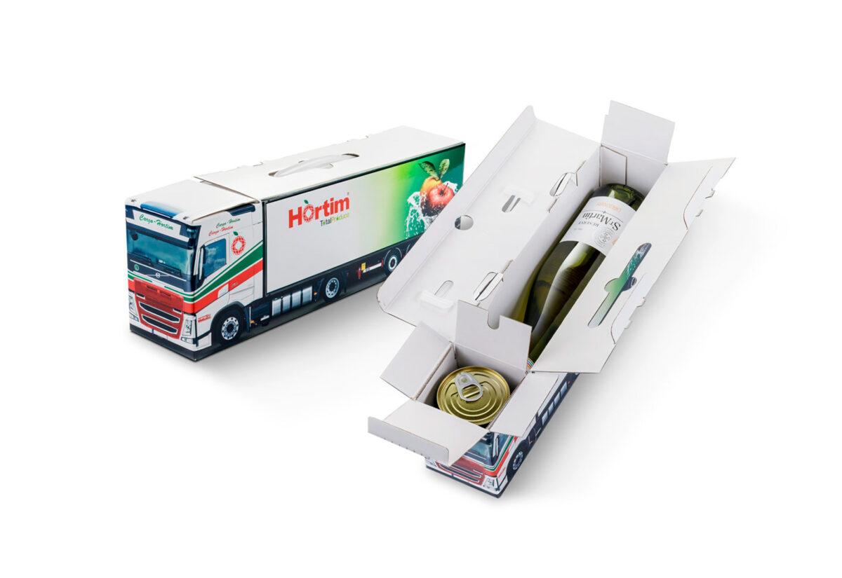 Truckbox Promotional Giftbox – Mercedes Benz Truck, Hortim Cargo