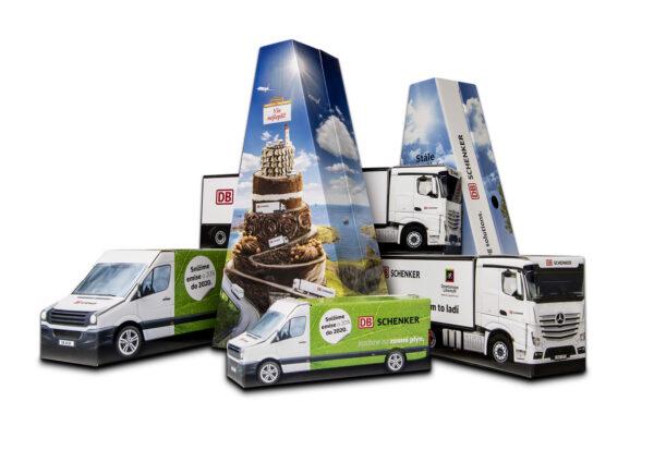 Truckbox Promotional Giftbox Triangle