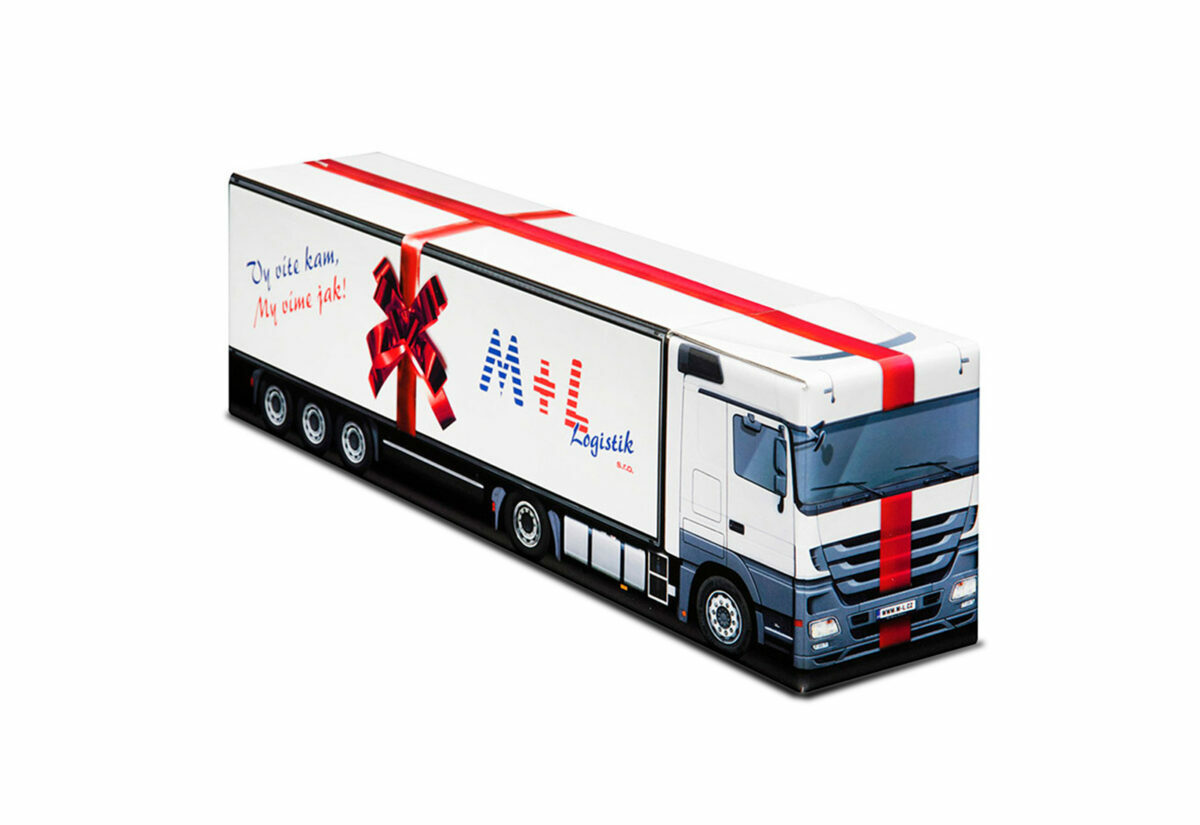 Truckbox Promotional Giftbox – Mercedes Benz Truck, M+L Logistik