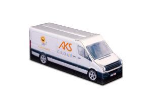 Truckbox Promotional Giftbox – VW Crafter Van, AKS Group