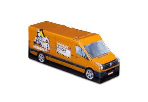 Truckbox Promotional Giftbox – VW Crafter Van, Hornbach