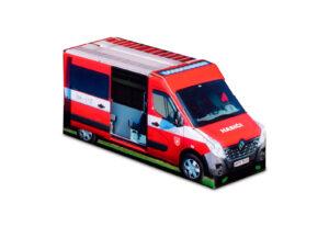 Truckbox Promotional Giftbox – Renault Master Van, Fire Truck