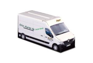 Truckbox Promotional Giftbox – Renault Master Van, Taxi Jäger - Eifel-Kurier