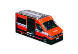 Truckbox Promotional Giftbox – VW Crafter Van, Fire Truck