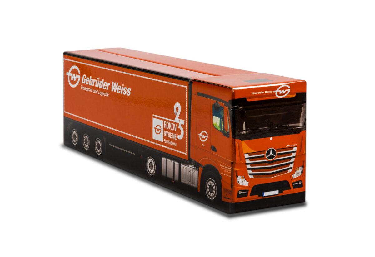 Truckbox Promotional Giftbox – Mercedes Benz Truck, Gebrüder Weiss