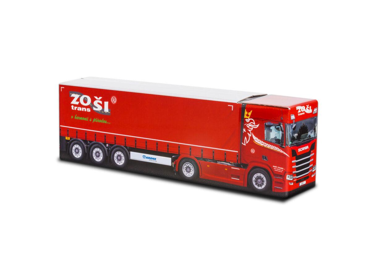 Truckbox Promotional Giftbox – Scania Truck, Zoši