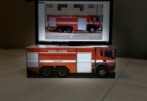 Truckbox Promotional Giftbox – Fire Truck Scania
