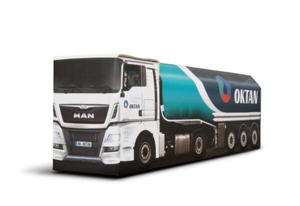 Truckbox Promotional Giftbox fuel tank