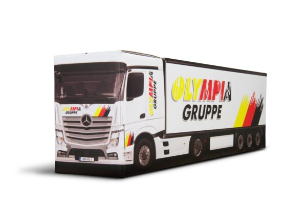 Truckbox Promotional Giftbox truck wine