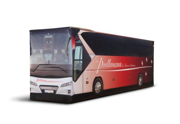 Truckbox Promotional Giftbox - bus wine